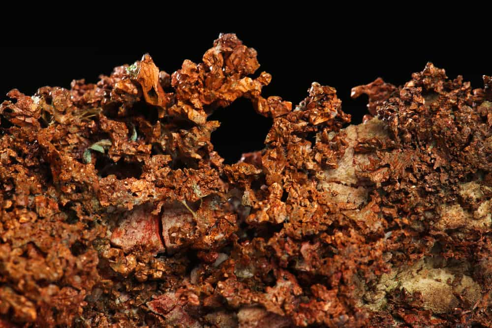 Copper commodity