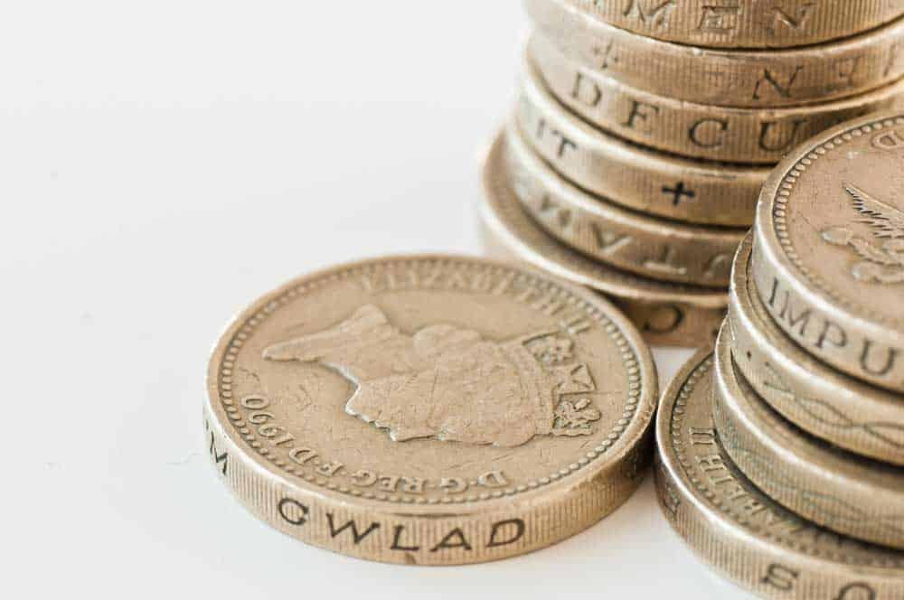 British Pound on first day of 2017