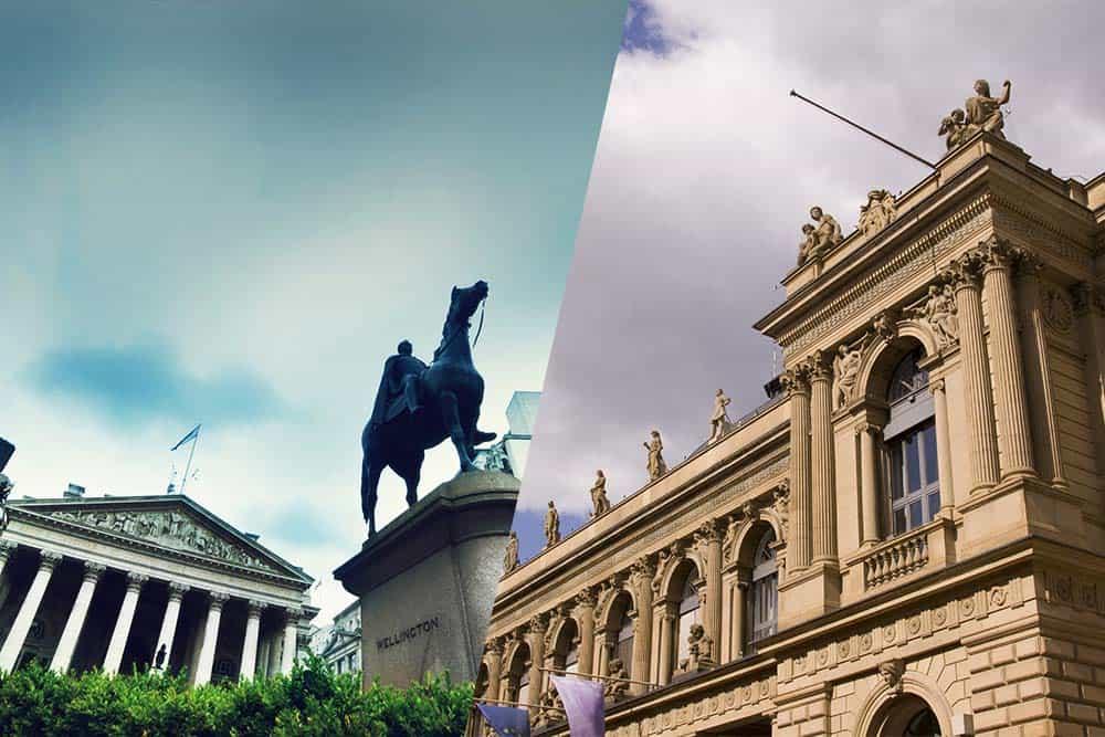 London Stock exchange and Deutsche Boerse