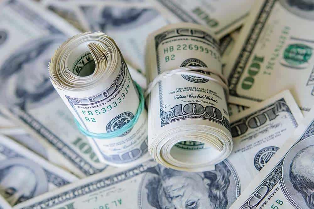 Dollar surges