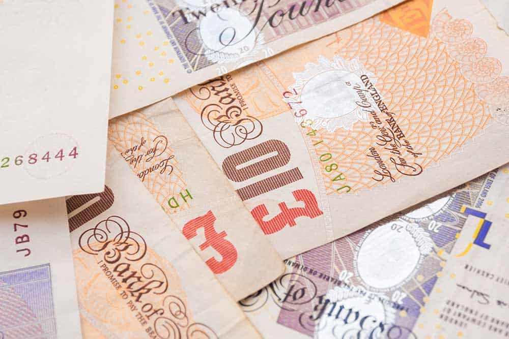British Pound tumbles