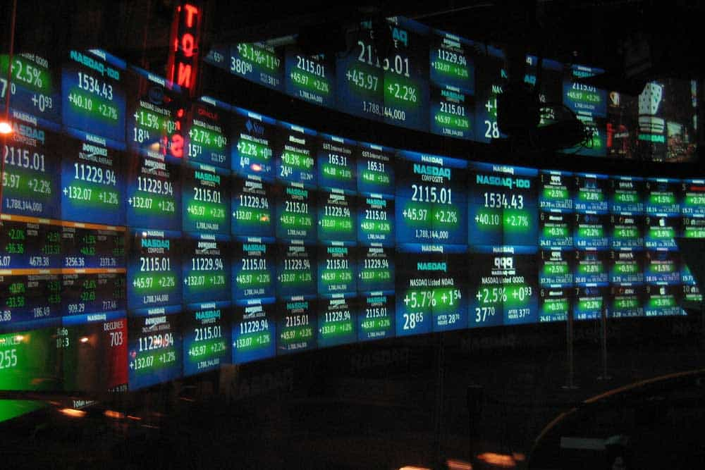 Equities rose