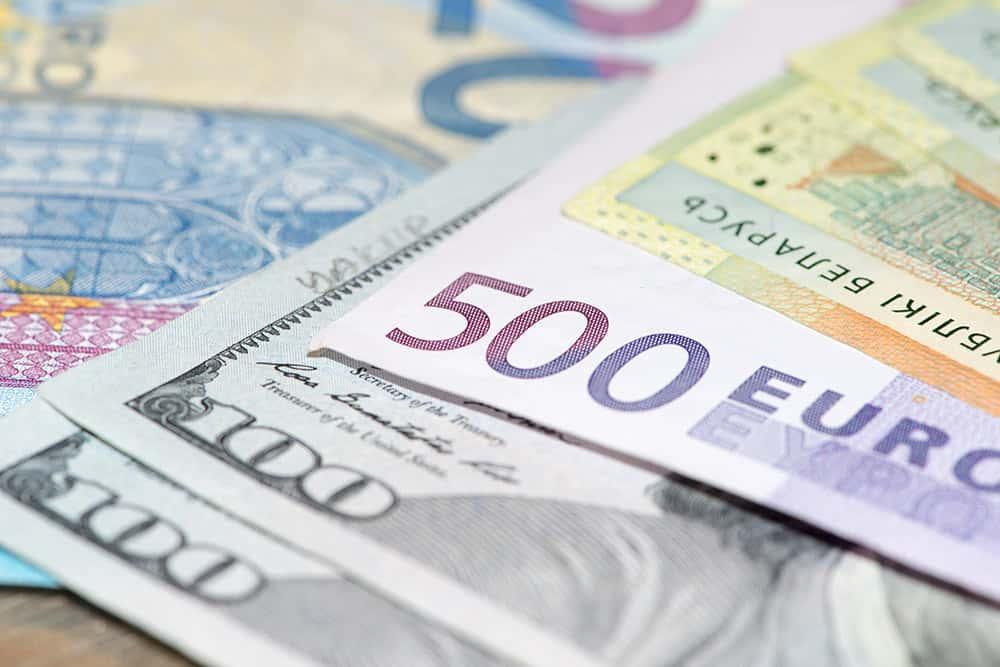 Euro reaches heights
