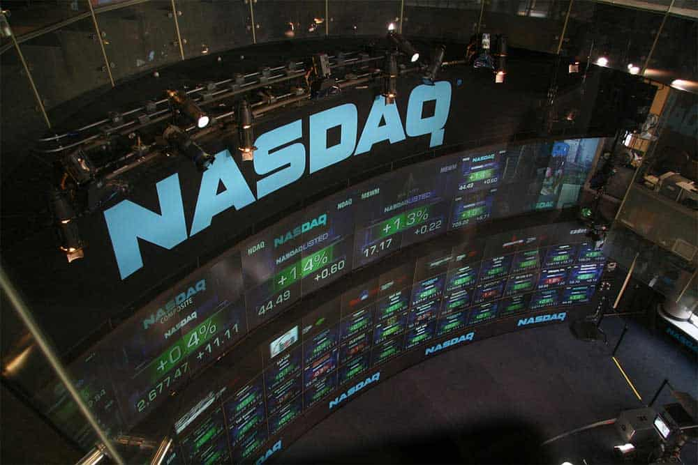 NASDAQ posts record