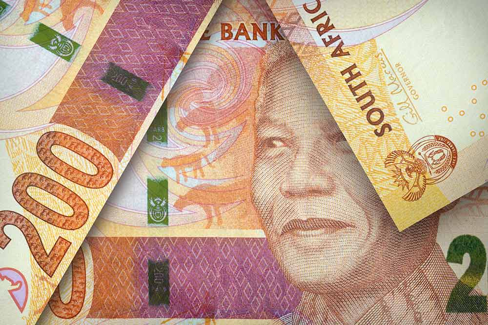 South Africa's rand tumbled
