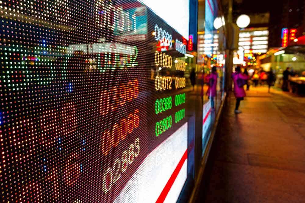 Stocks in Asia