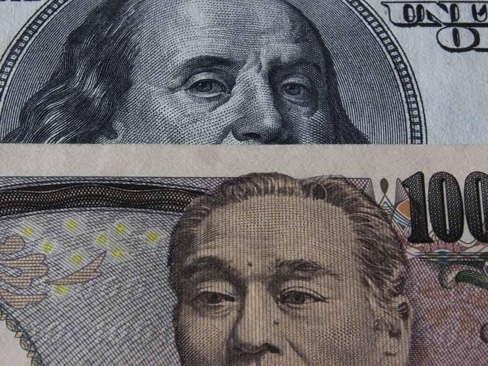 U.S. dollar overtakes yen