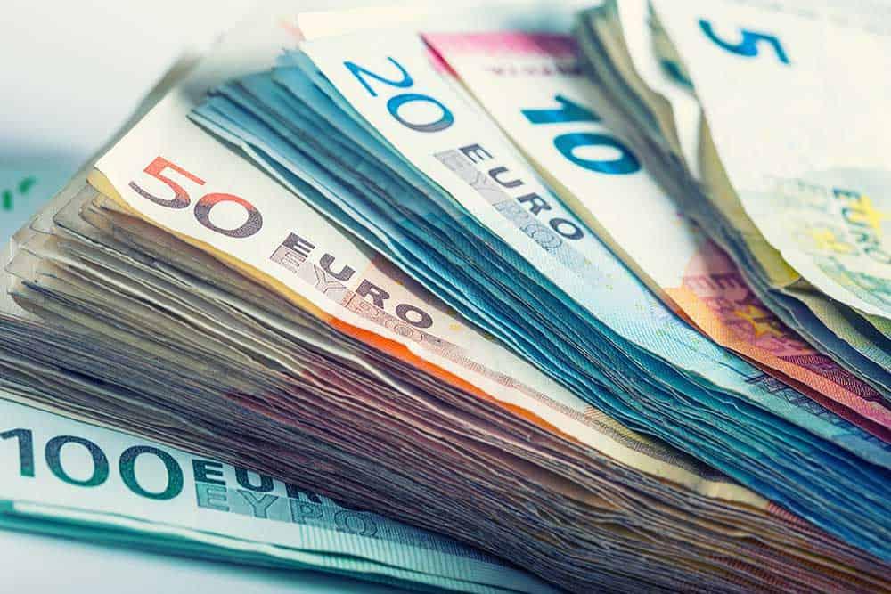 Euro fell