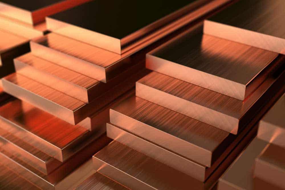 Inventories of Copper
