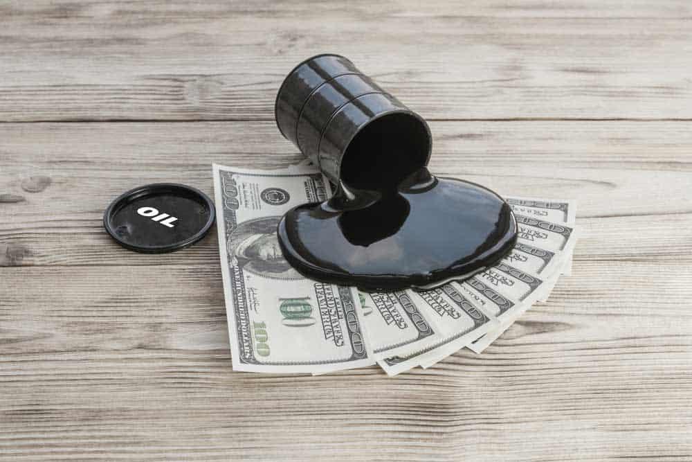 Oil prices leg up