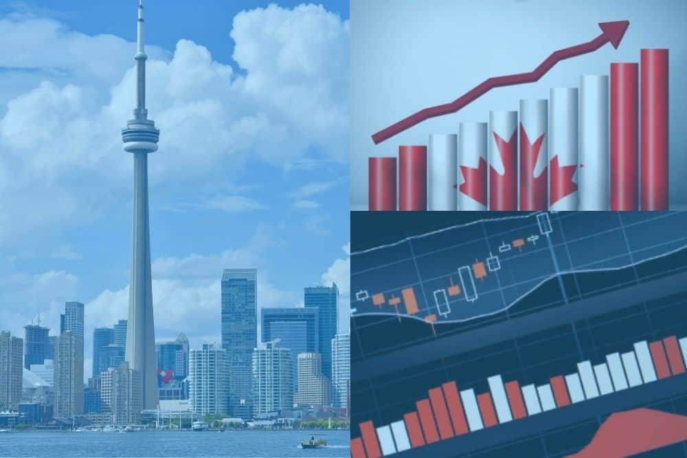 Canada Shares Close High at The End of Trade day