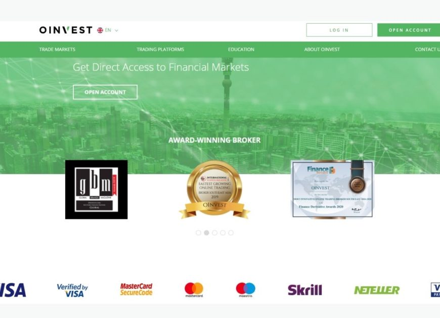 Direct Access of Oinvest Broker