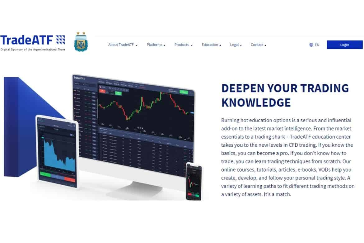 Get Trading Knowledge In TradeATF Broker