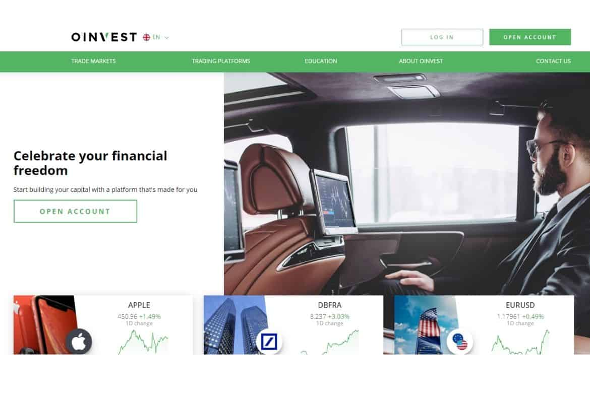 Oinvest.co.za Review 2020