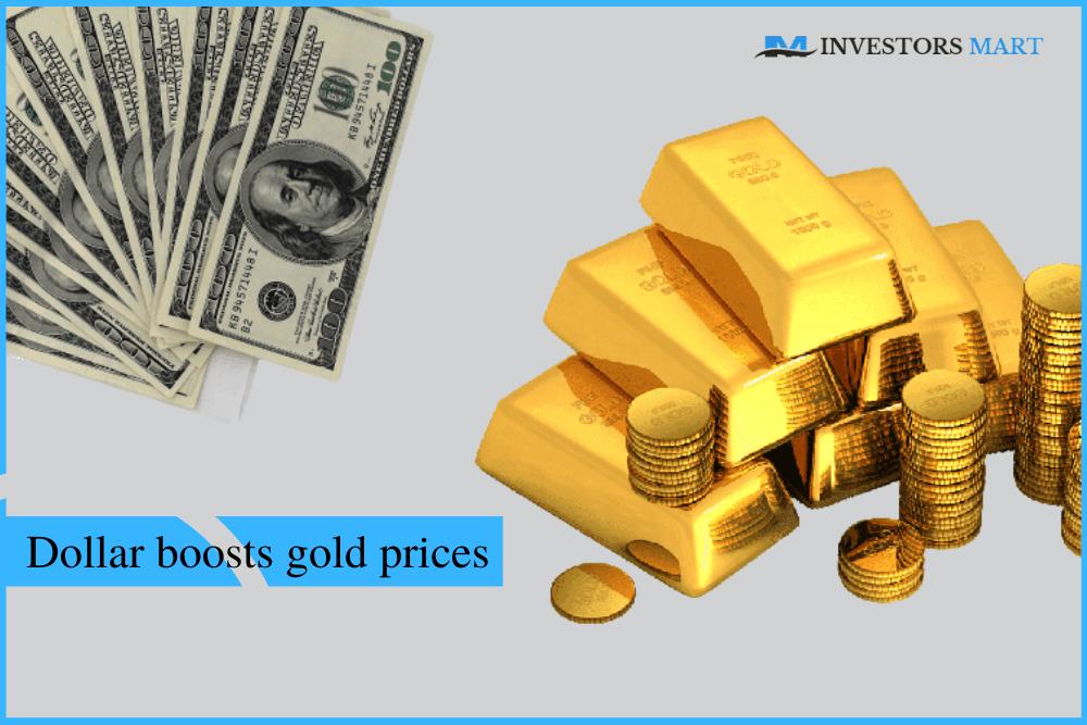 Weak dollar boosts gold prices