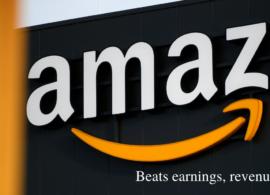 Amazon Q3 reports beat earnings, revenue