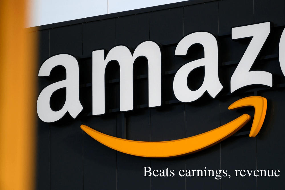 Amazon q3 reports beats earnings, revenue