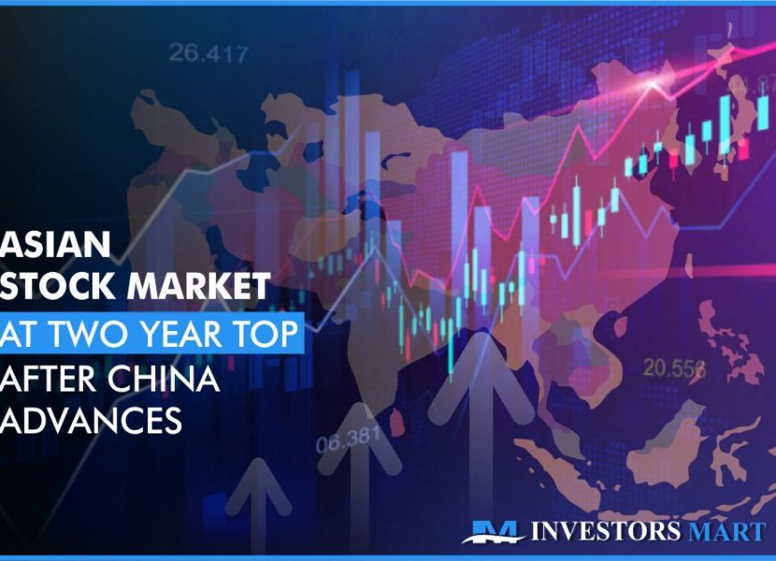 Asian stock market at two year top after China advances