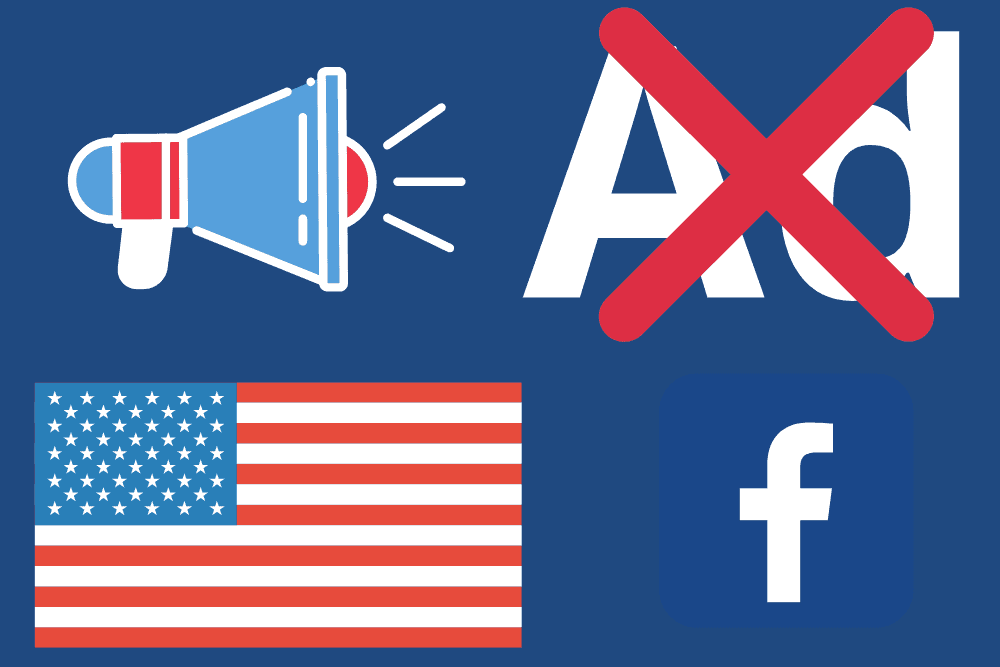 FB suspends ads services ahead of US elections