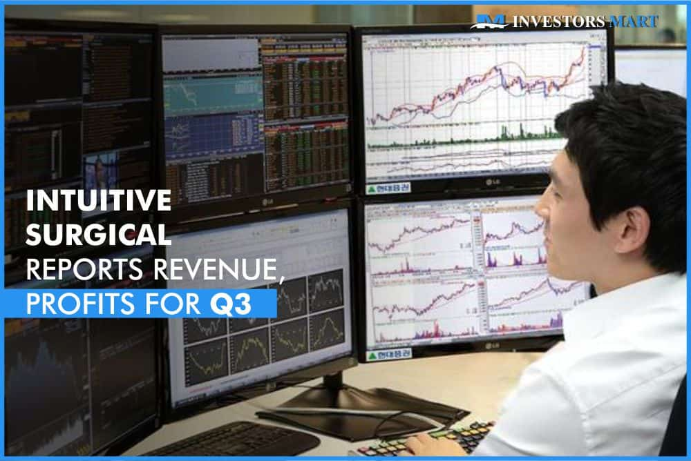 Intuitive Surgical reports revenue, profits for Q3