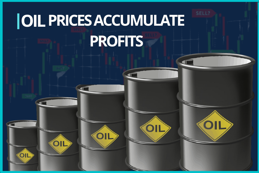 Oil prices accumulate profits from previous sessions