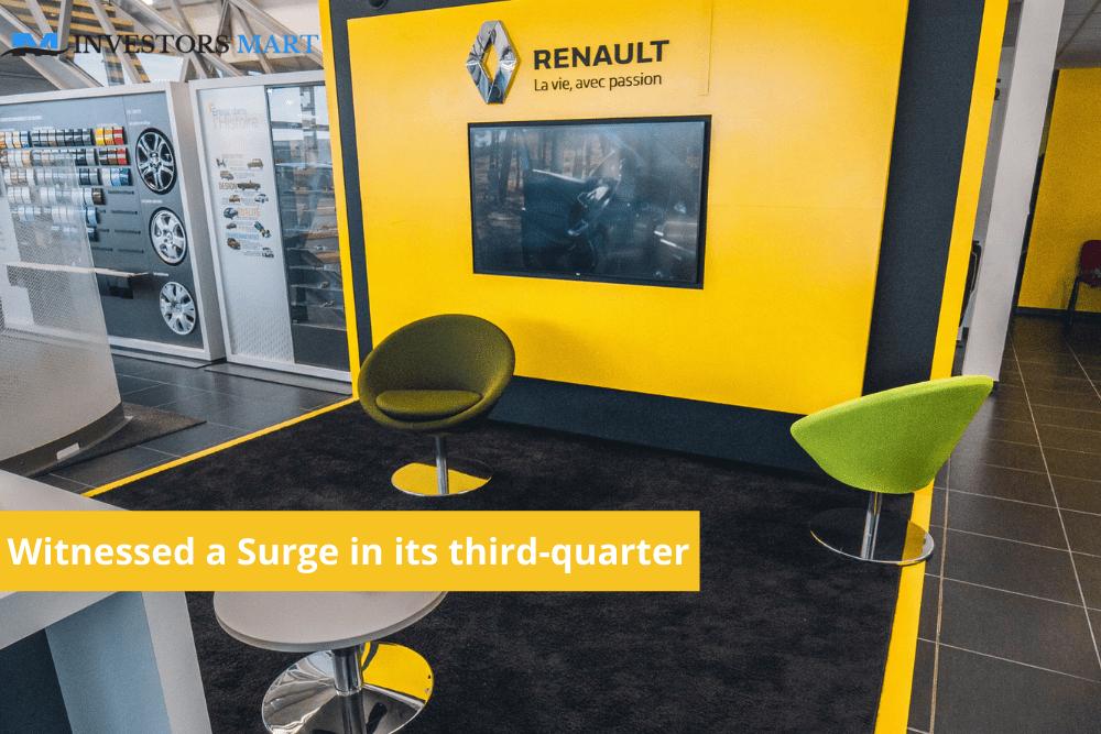 Renault edge pasts estimates in third-quarter