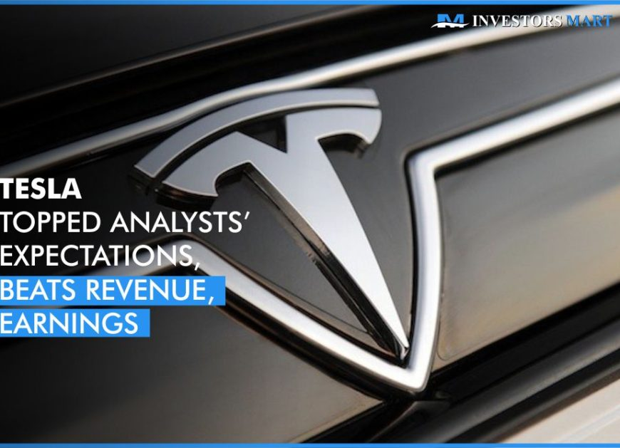 Tesla topped analysts' expectations, beats revenue, earnings