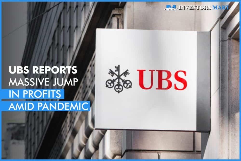 UBS reports massive jump in profits amid pandemic