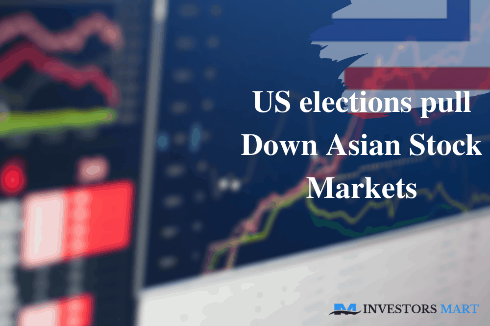 US elections pull down Asian stock markets