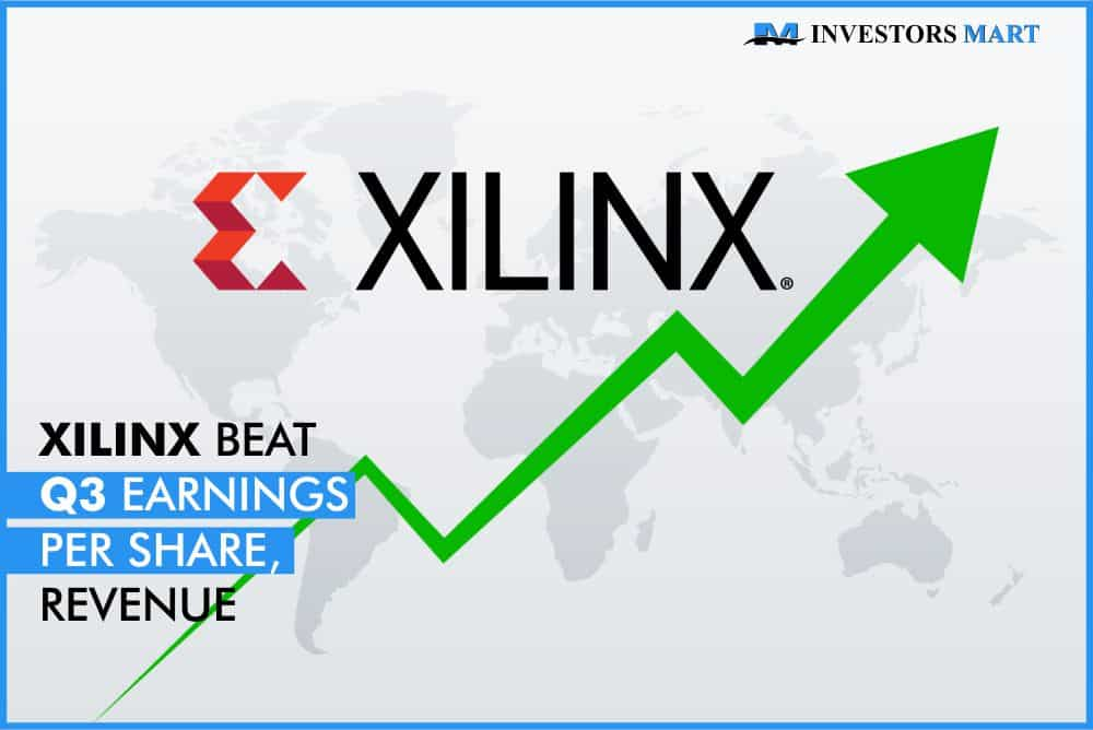 Xilinx beat Q3 earnings per share, revenue