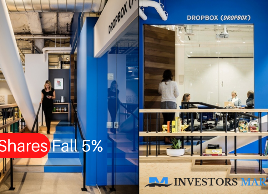 Dropbox Shares Fall 5% Despite Beat and Raise Quarter