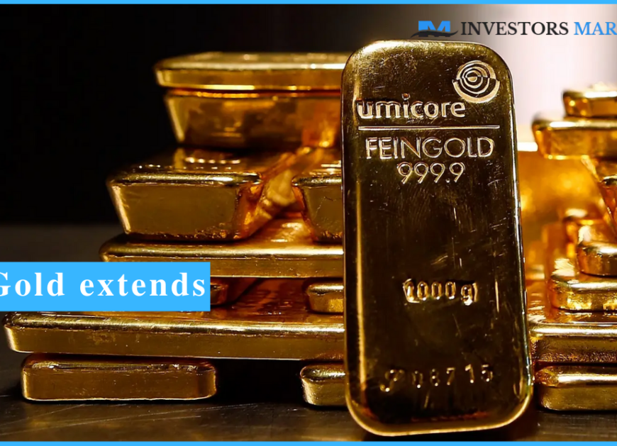 Gold extends gains on a consecutive day