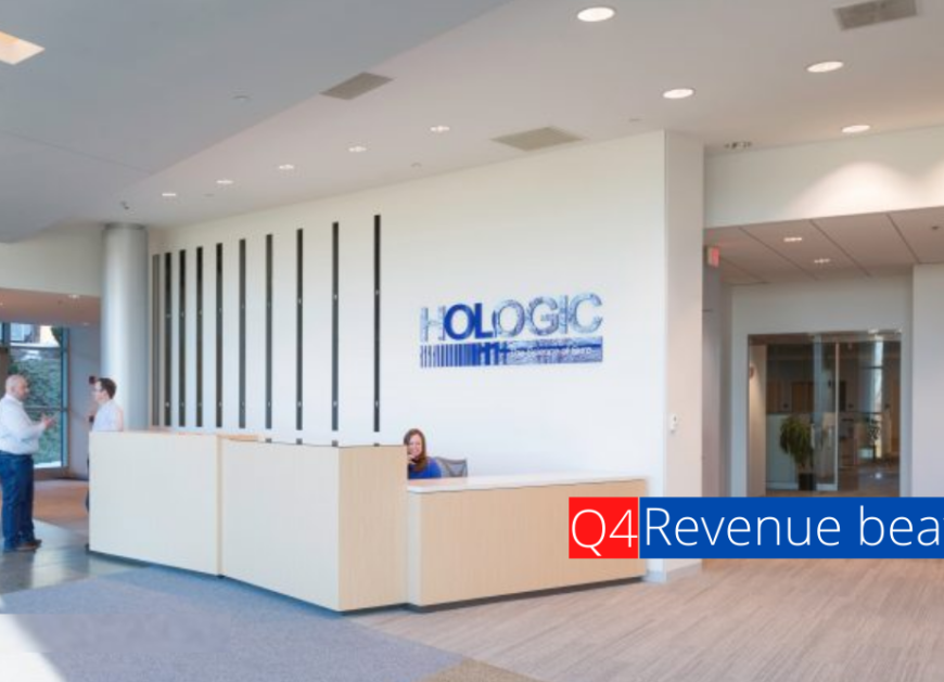 Hologic Earnings, Revenue beat in Q4 Type a message
