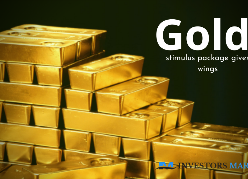 Hopes of stimulus package gives wings to gold