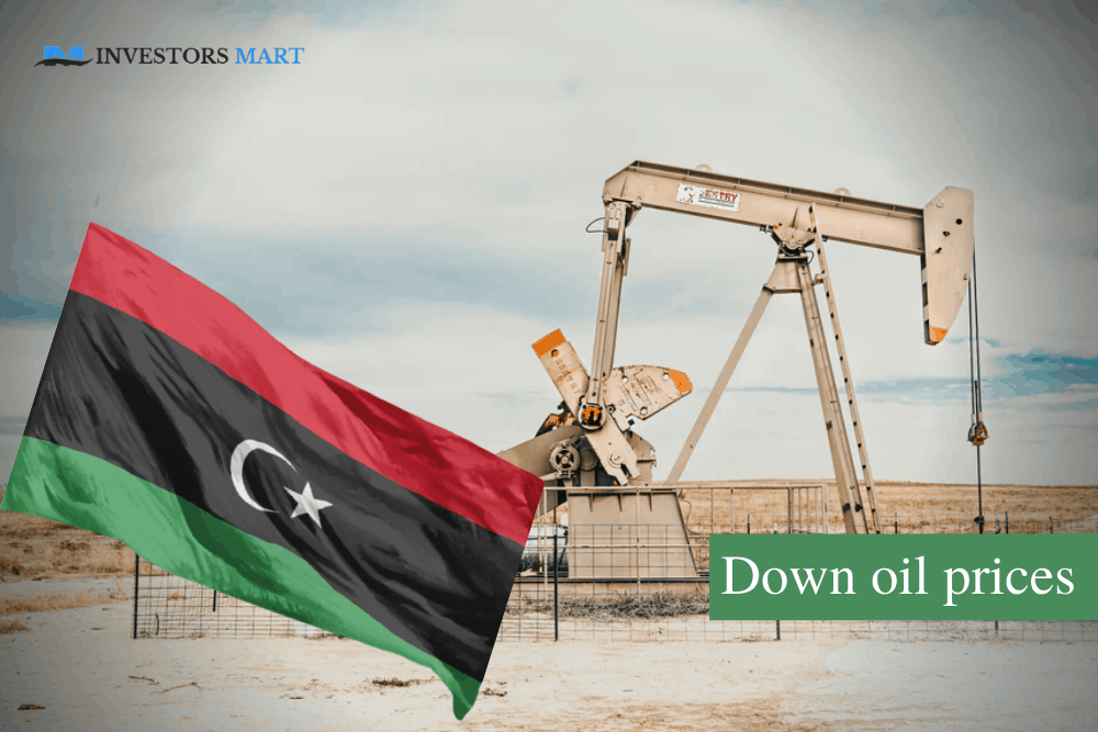 Libya output pulls down oil prices
