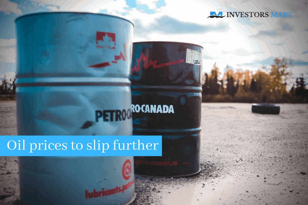 Lockdown concerns push oil prices to slip further