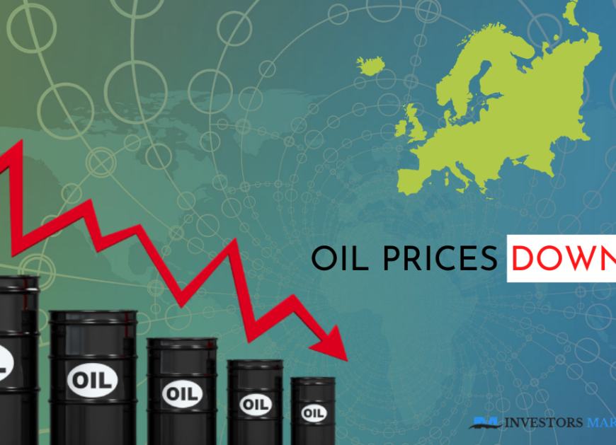 Lockdown in Europe pushes oil prices down
