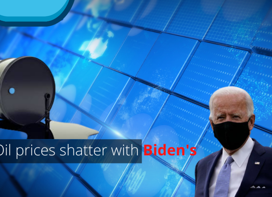 Oil prices shatter with Biden's probable win