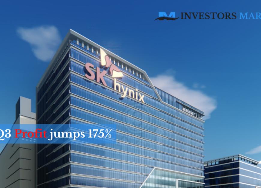 SK Hynix third-quarter profit jumps 175% on mobile chip demand